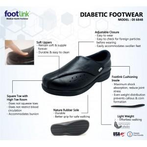 D48 Model DI 6848 - Diabetic Shoe