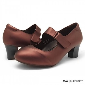 Fidu May Burgundy