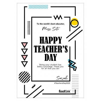 GC: Teacher's Day (TD01)