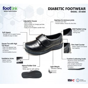 D88 Model DI 6888 - Diabetic Shoe