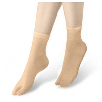 2 Toe Lady Sock- Skin