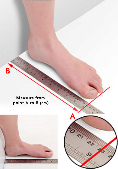 footlink-measuring-chart